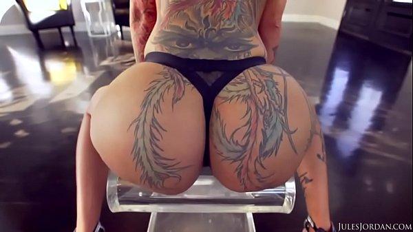 Bella Bellz Culona Tatuada Cogiendo Con Negro