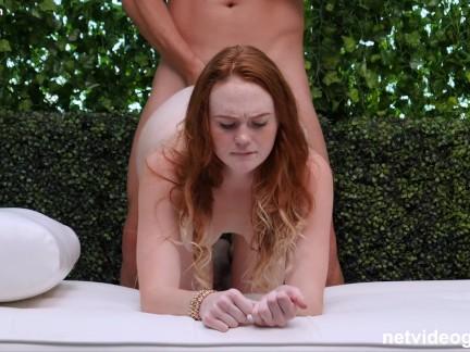 Casting Con Culito de Pelirroja Natural