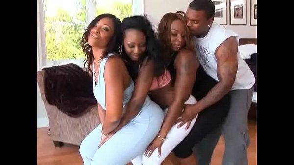 Culos Gratis Orgía Con Tres Negras Bien Putas